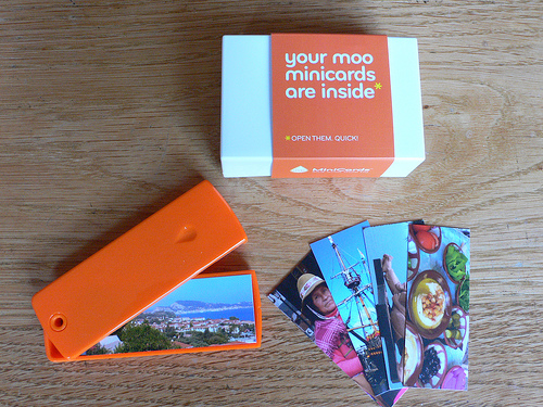 Business cards for bloggers from moo heather on her travels i wrote before about last box of moo cards reheart Gallery