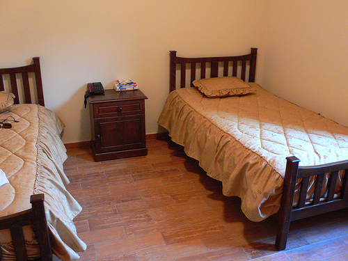 Guest accommodation at St Anthony's Monastery