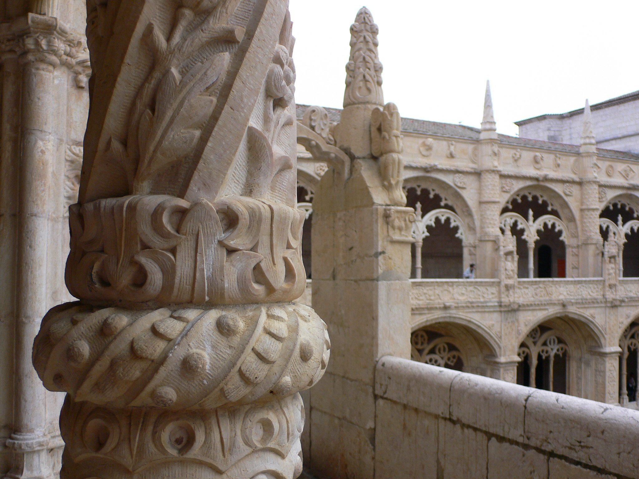 Monastery of Jeronimos in Lisbon