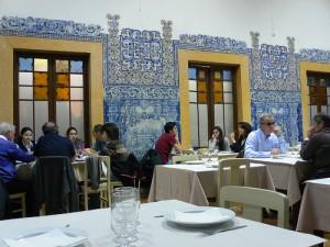 Dining room at Casa do Alentejo in Lisbon