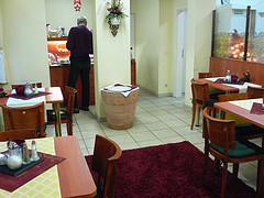 Breakfast room at Hotel Falkenturm