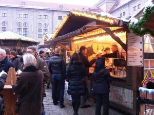 Christmas market in Munich