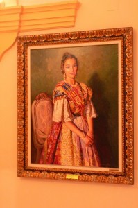 Portrait of a fallera major