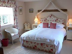 Bedroom at the Kings Head Inn, Bledington