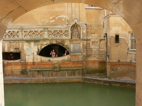 Kings Bath at the Roman Baths in Bath