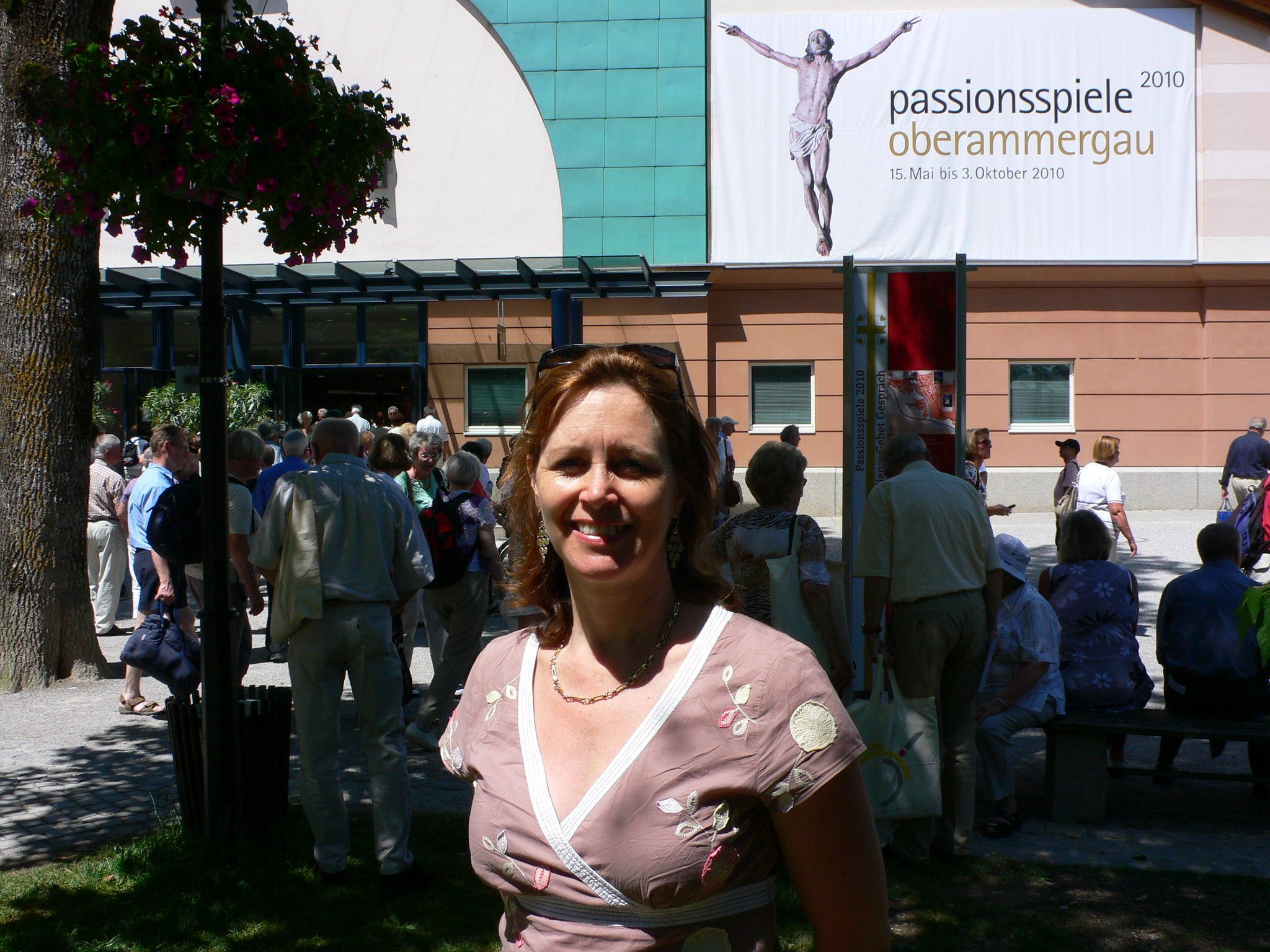 Visiting the Oberammergau Passion Play in 2010