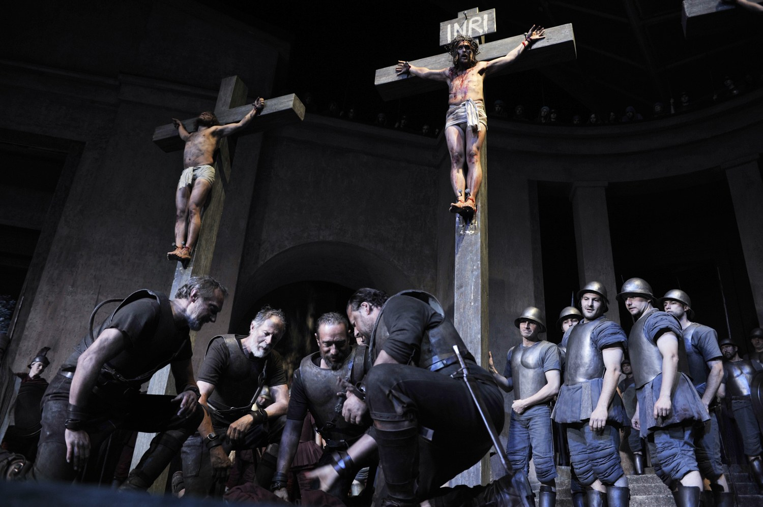Crucifiction - Oberammergau Passion Play 2020 Photos: Oberammergau Passion Play 2020
