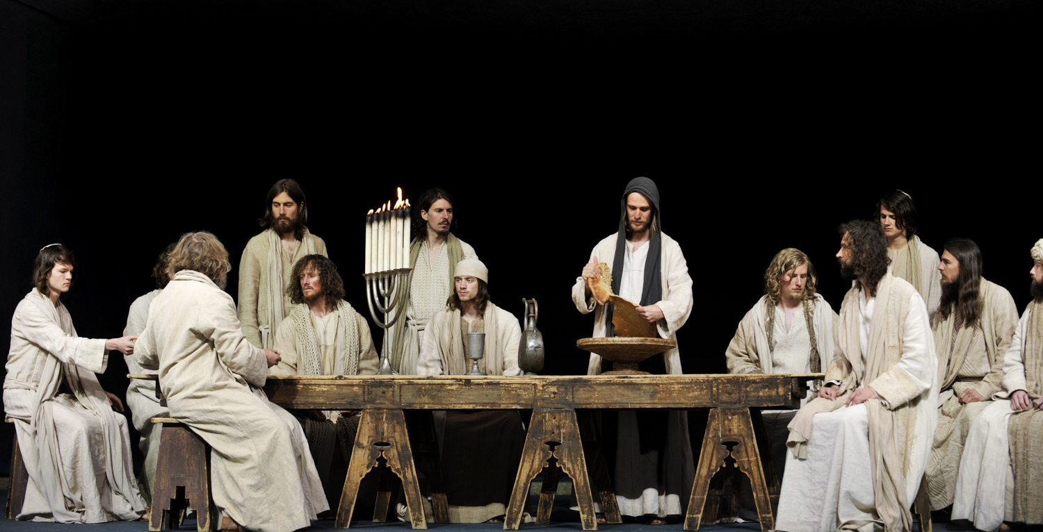 The Last Supper - Oberammergau Passion Play 2020 Photos: Oberammergau Passion Play 2020