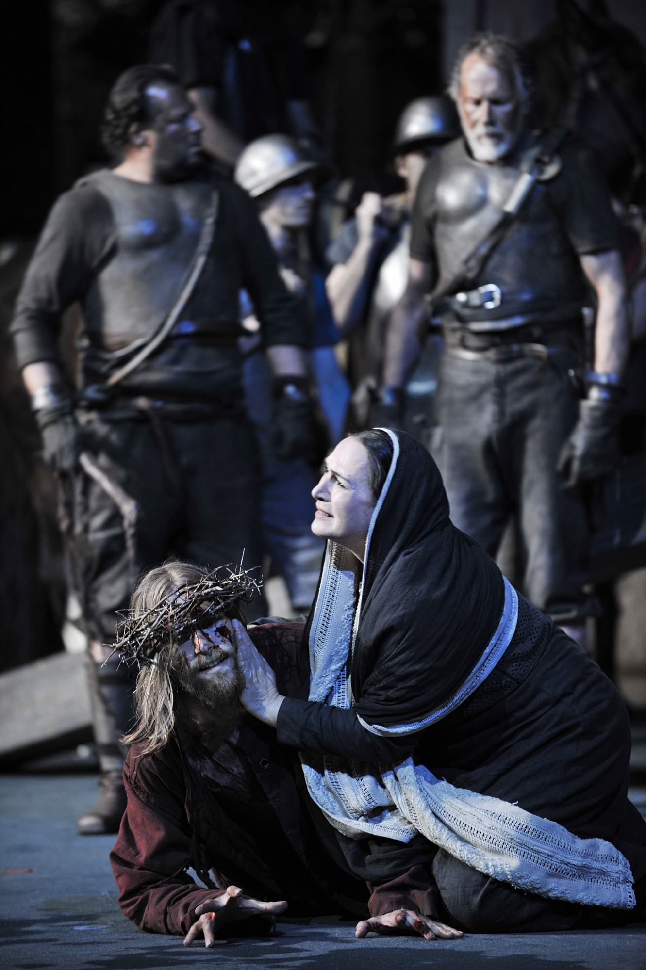 The Way of the Cross - Oberammergau Passion Play 2020 Photos: Oberammergau Passion Play 2020