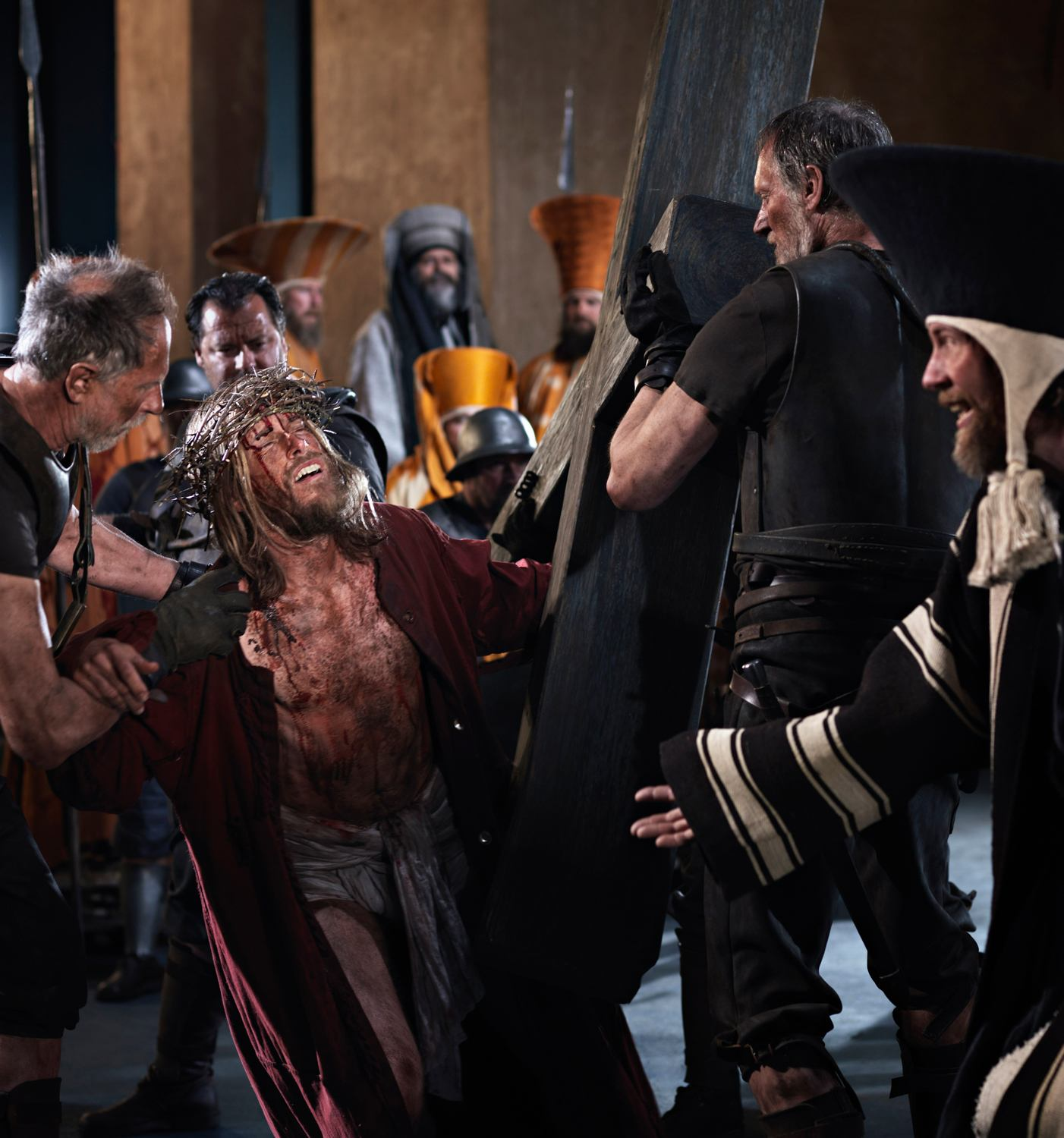 Way of the Cross - Oberammergau Passion Play 2020 Photos: Oberammergau Passion Play 2020