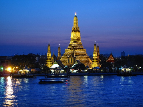 The Chao Phraya River in Bangkok