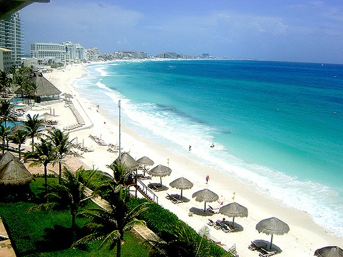Cancun view from room
