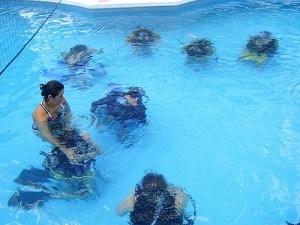 Learn to scuba