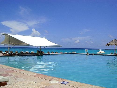 Pool at Westin Regina in Cancun