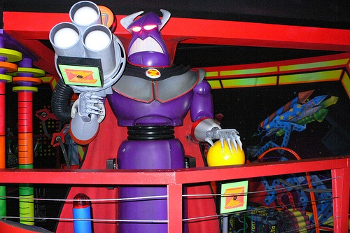 Buzz Lightyear Laserblast at Disneyland, Paris
