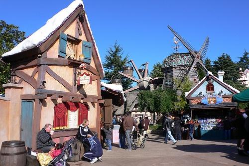 Fanstasyland at Disneyland Paris