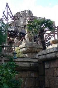 Indiana Jones ride at Disneyland, Paris