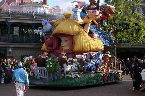 Parade at Disneyland, Paris