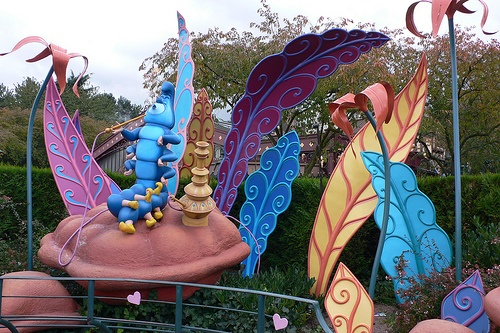 The Labyrinth at Fantasyland, Disneyland, Paris