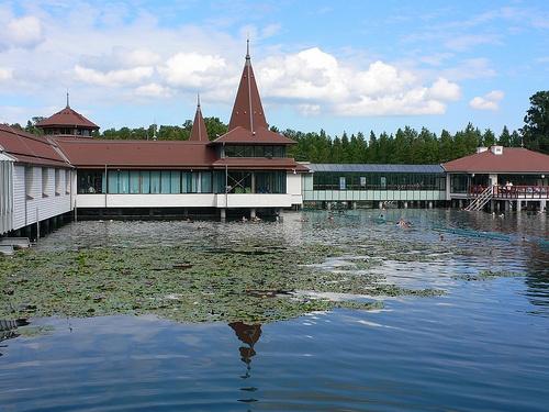 Thermal Lake at Hévíz, Hungary