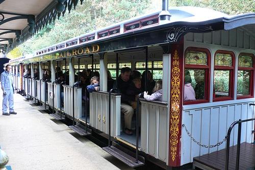 Train at Disneyland, Paris
