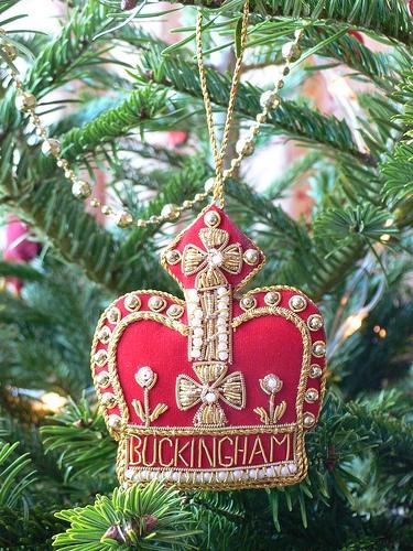 Christmas decoration from Buckingham Palace