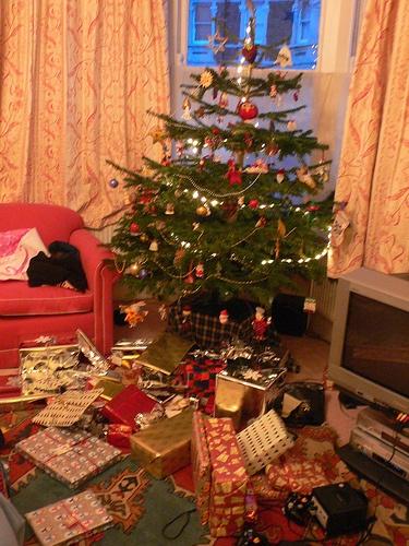 Christmas tree in Bristol