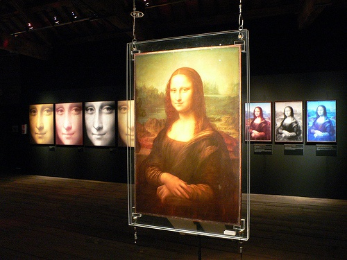 Leonardo da Vinci exhibition at Museum of Science and Industry in Manchester
