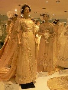 Bridal exhibition at Bath Fashion Museum