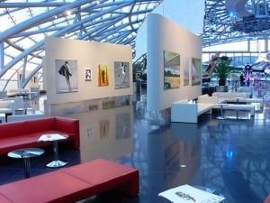 Art exhibition at Hangar 7 in Salzburg