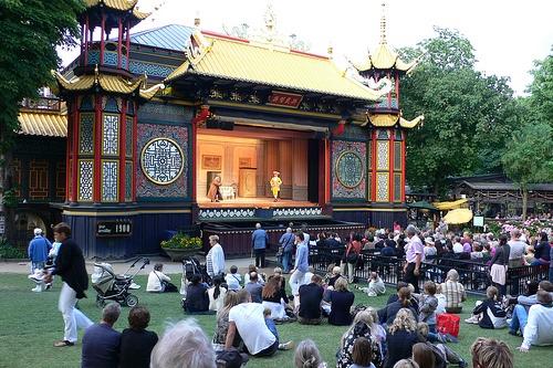Pantomime Theatre in Tivoli Gardens