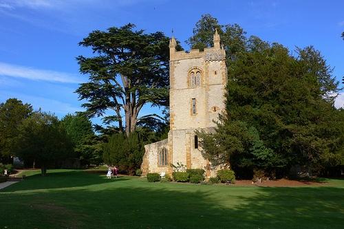 Church at Ettington Park Hotel near Stratford upon Avon Photo: Heatheronhertravels