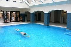 Swimming Pool at Ettington Park Hotel Photo: Heatheronhertravels