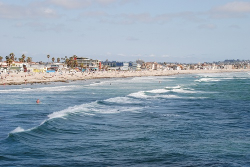 Mission Beach in San Diego Photo: Kevin H. on Flickr