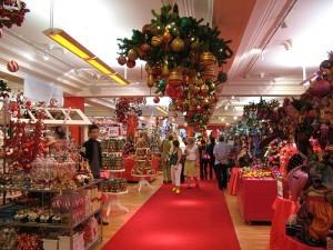 Christmas shopping at Harrods Photo: Olivier Bruchez of Flickr