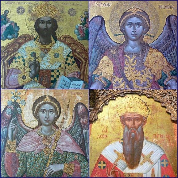 Religious artwork at Zakynthos Museum Photo: Heatheronhertravels.com