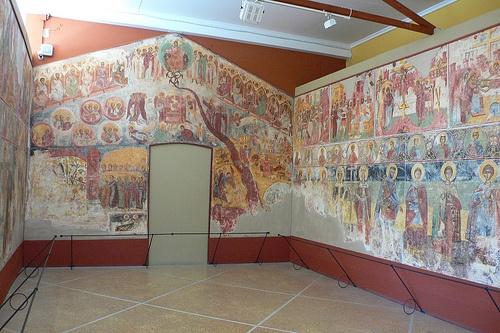 Frescos at Zakynthos Museum on Solomos Square Photo: Heatheronhertravels.com