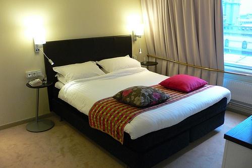 Bedroom at Elite Plaza hotel, Gothenburg, Sweden Photo: Heaheronhertravels.com