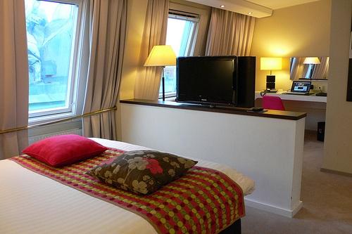 Bedroom at Elite Plaza hotel, Gothenburg, Sweden Photo: Heatheronhertravels.com
