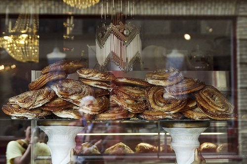 Gothenburg Winter - Cinnamon buns at Cafe Husaren in Gothenburg Photo: Roboppy on Flickr