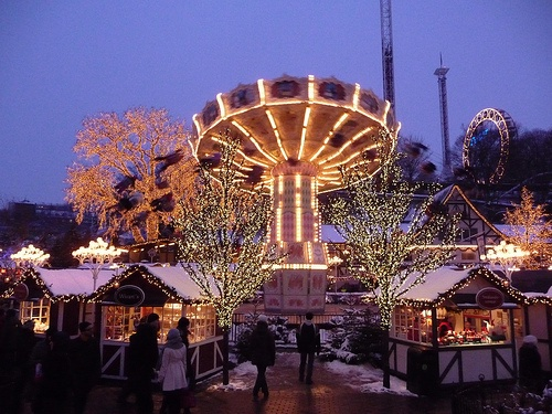 Gothenburg winter - Liseberg Christmas Market at Gothenburg Photo: La Ezwa on Flickr