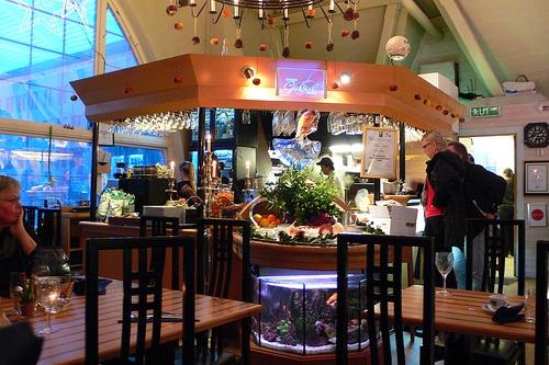 Seafood In Gothenburg In Restaurant Gabriel At Feskekorka