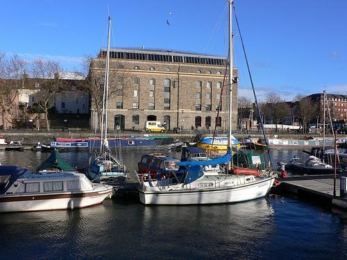 Arnolfini gallery, Bristol docks Photo: Heatheronhertravels.com