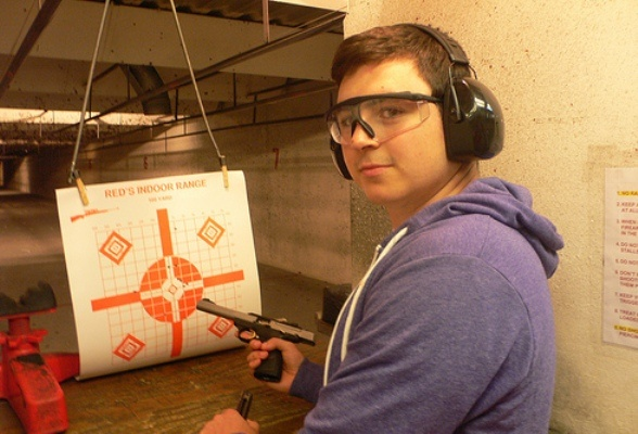 Where A 19 Year Old Can Shoot An Ak47 For Fun Only In Texas