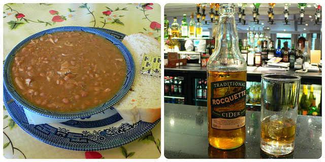 Best Restaurants in Guernsey - Guernsey Bean Jar and Rocquette Cider on Guernsey Photo: Heatheronhertravels.com