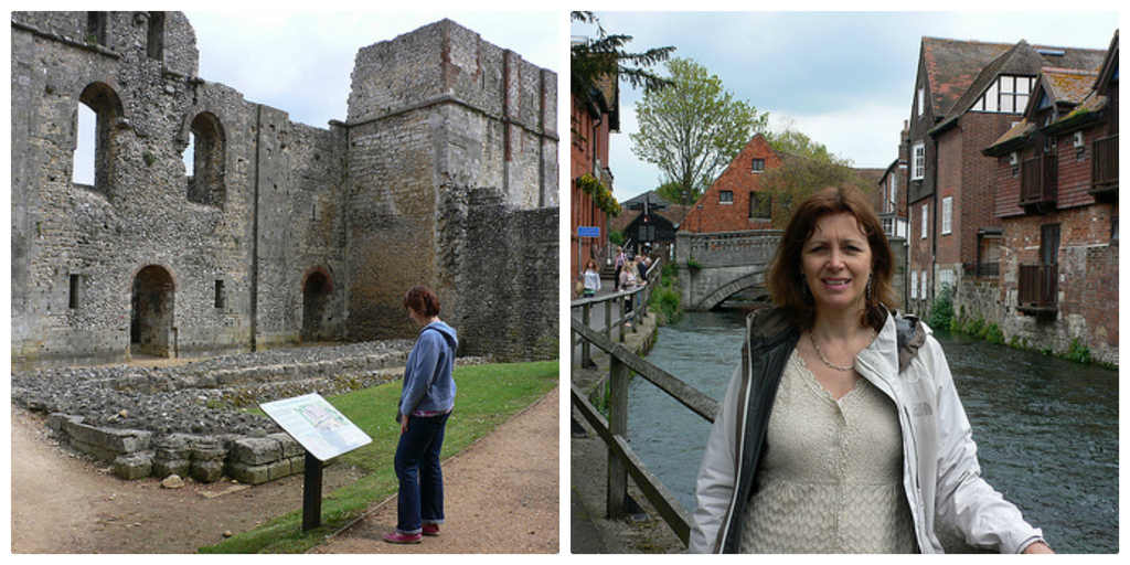Wolvesey Castle and River Itchen in Winchester Photo: Heatheronhertravels.com