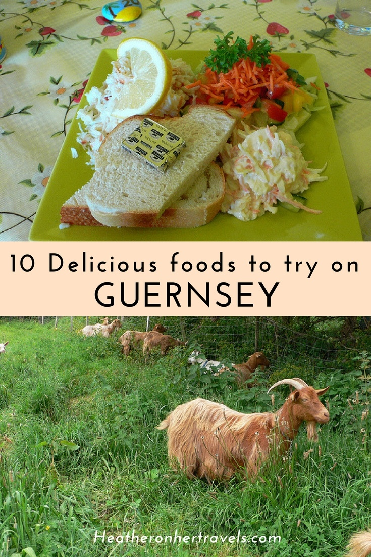 10 Delicious foods to try on Guernsey and Sark | Heather on her travels