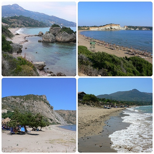 Beaches in Zakynthos Photo: Heatheronhertravels.com