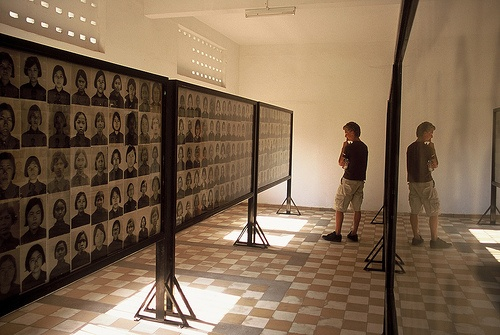 Tuol Sleng Genocide Museum Photo: timmarec of Flickr