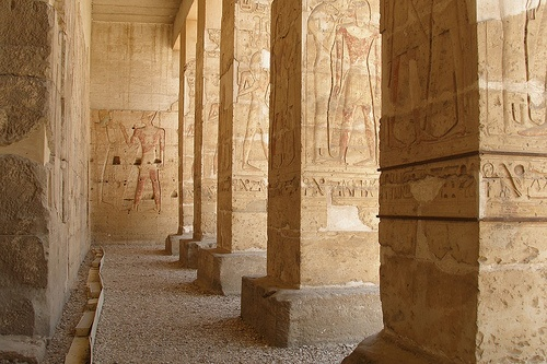 Great Osiris Temple at Abydos Photo by Argenberg on Flickr